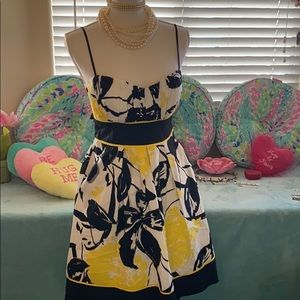 Speechless bright yellow cotton summer dress